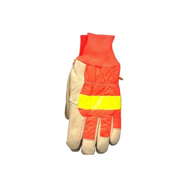 Kinco High Visibility Waterproof Pigskin Gloves, Size Large