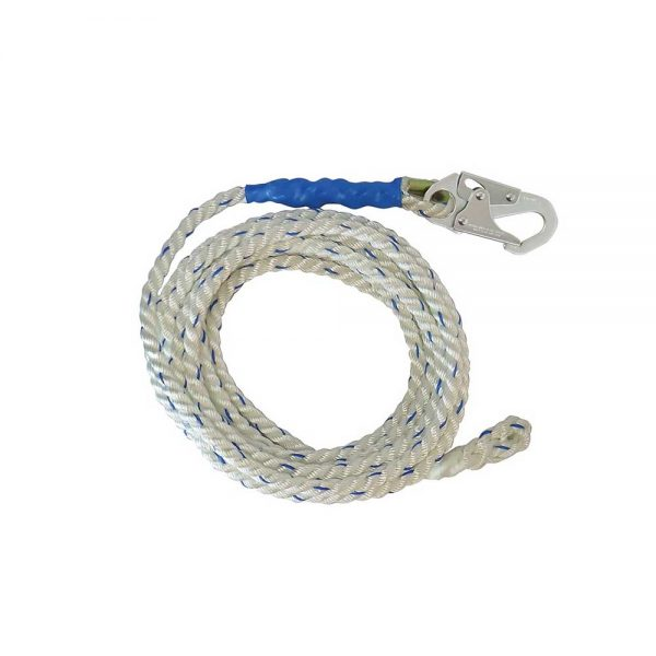 Falltech ft Vertical Lifeline with Snap Hook and Braid End