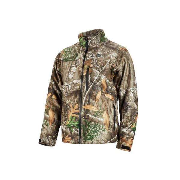 Milwaukee M12 Heated Quietshell Jacket Kit in Realtree Camo – Size Large